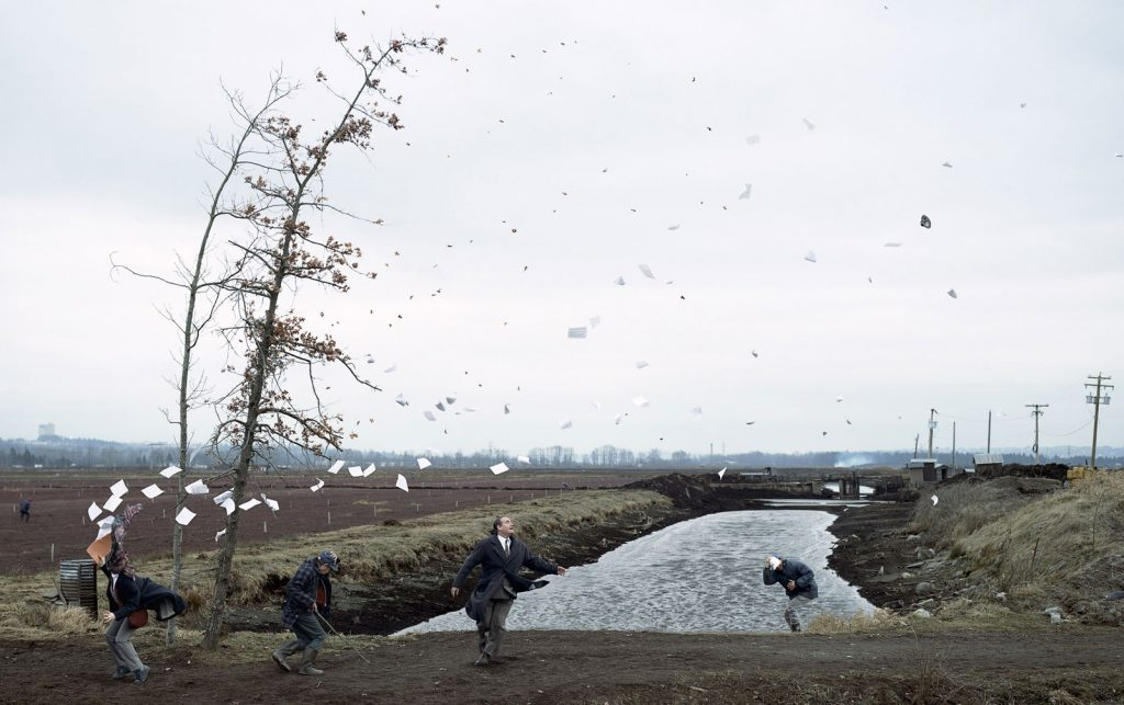 jeff wall hokusai