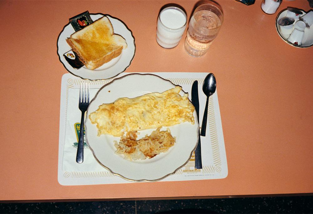 repas omelette driving