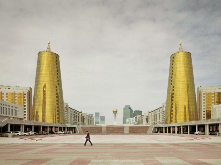 Tours dorées à Astana