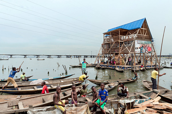 ecole flottante de Makoko - adeyami