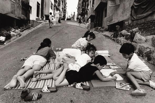 Kim Ki-Chan-enfants-rue Seoul