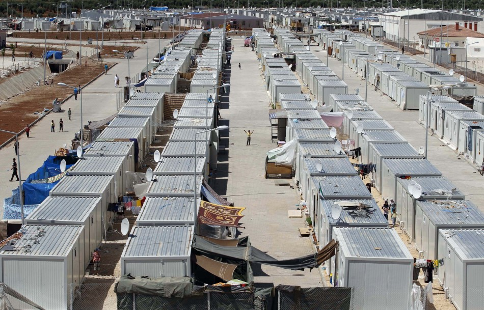 general-view-refugee-camp-named-quotcontainer-cityquot-turkish-syrian-border-oncupinar