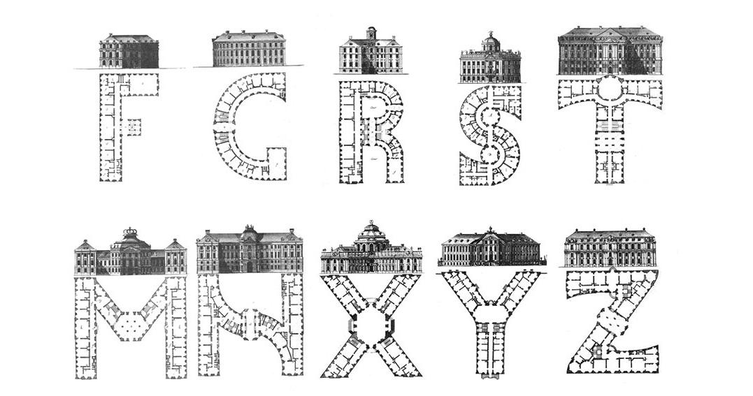 Architectural-alphabet-Johann-David-Steingruber-1773-4