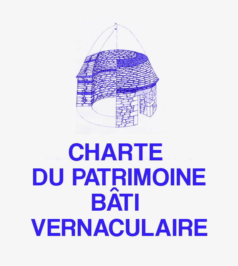 charte du patrimoine bati vernaculaire