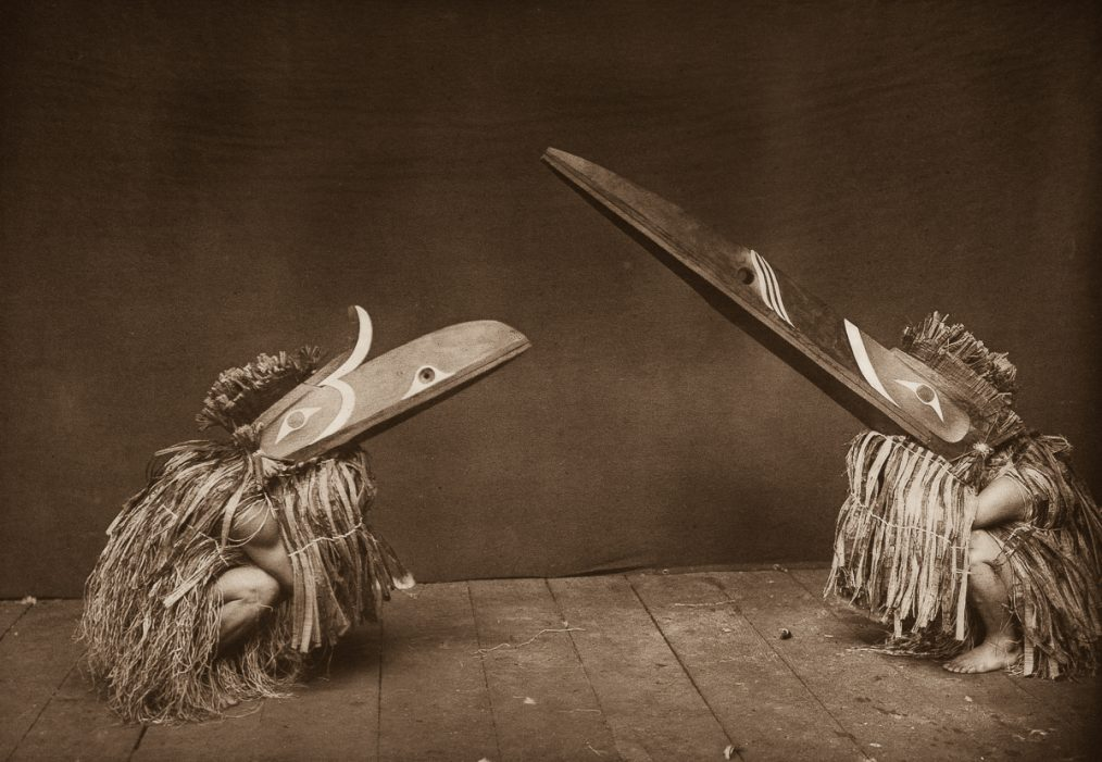 masques indiens d'amerique - edward curtis