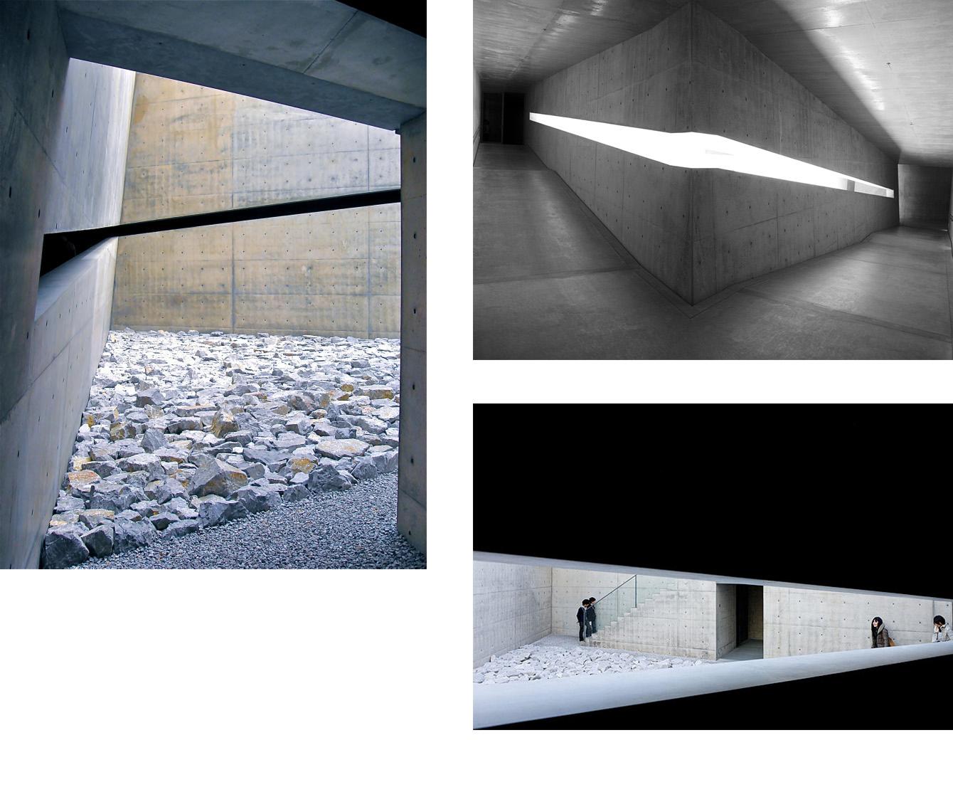 le chichu art museum, l'architecture sans façade - vernaculaire