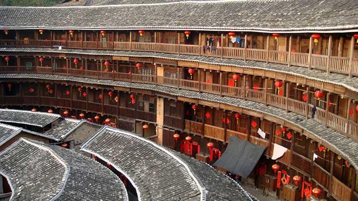 Les Tulou Hakka Les Maisons Rondes Chinoises Vernaculaire