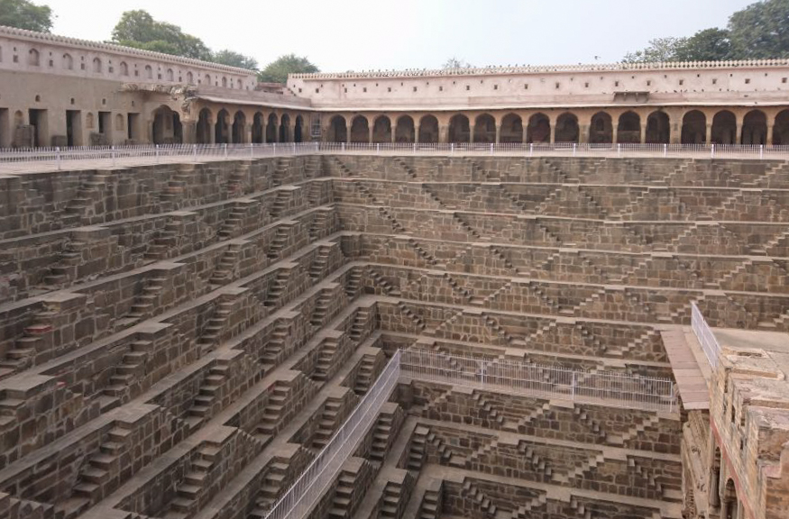 chand baori - puit escaliers - inde