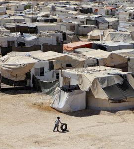 camp de réfugiés jordanie
