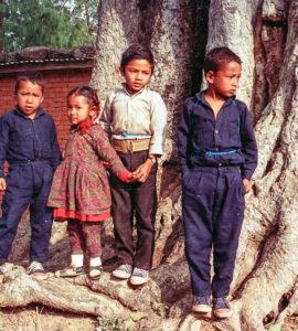 enfants tibetains portrait