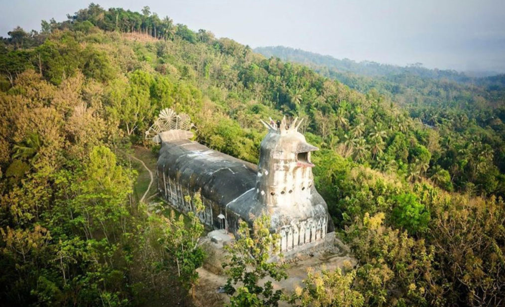 chapelle indonesie - poulet foret