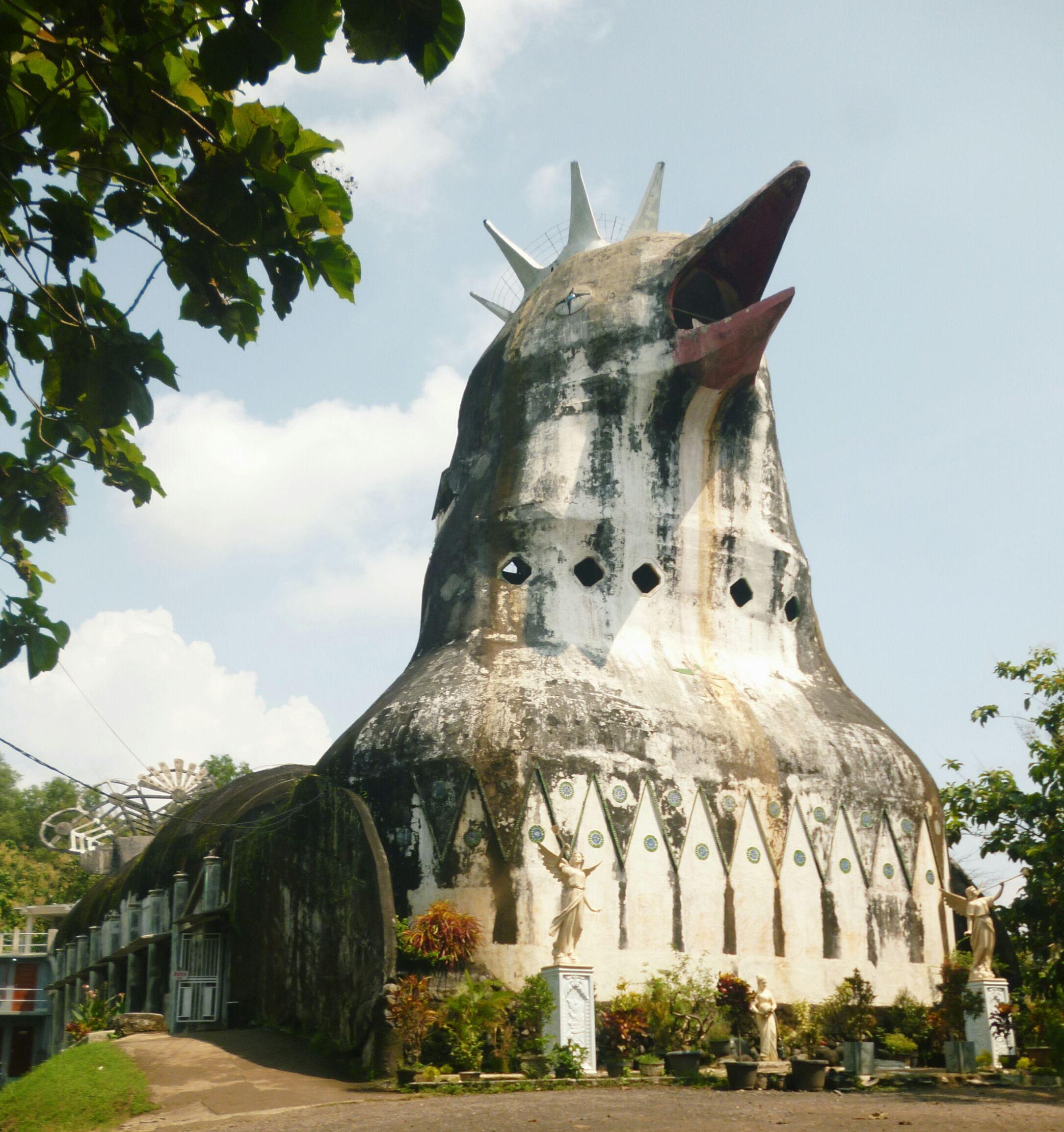 chapelle indonesie poulet